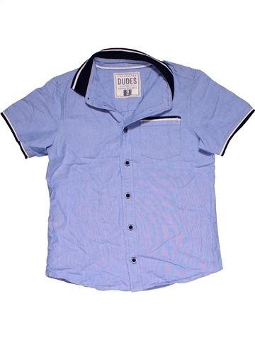 Short sleeve polo shirt boy MATALAN blue 9 years summer #26382_1
