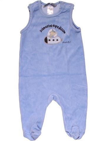 Short jumpsuit boy JACKY BABY purple 6 months winter #26406_1