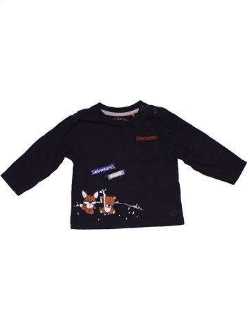 Long sleeve blouse boy S OLIVER black 3 months winter #26466_1