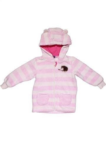 Sweatshirt girl LUPILU pink 3 years winter #26521_1