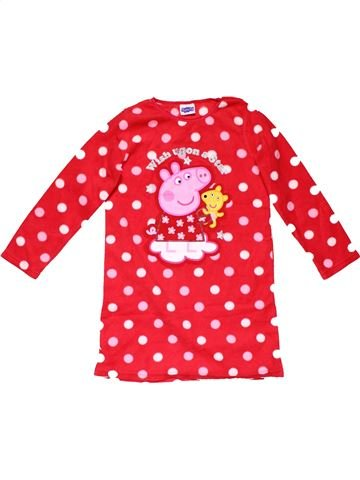 Long sleeve blouse girl PEPPA PIG white 6 years winter #26522_1