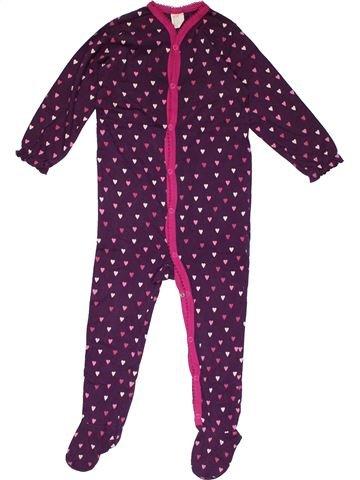 Long jumpsuit girl H&M purple 18 months winter #26547_1