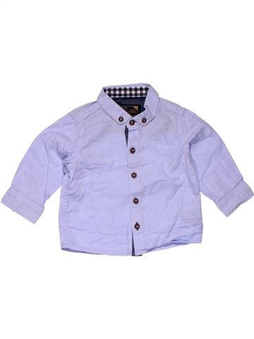 Long sleeve shirt boy NEXT gray 6 months summer #26757_1