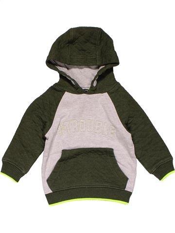 Sweatshirt boy GEORGE brown 18 months winter #26813_1
