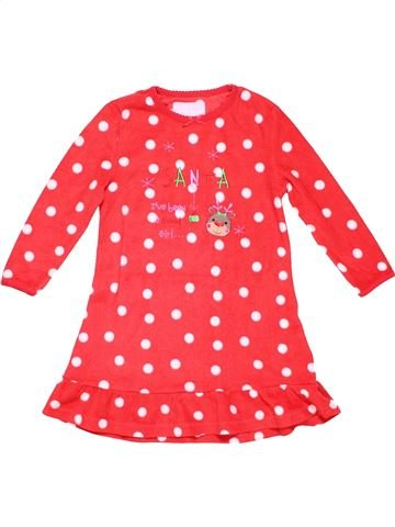 1 piece Pyjama girl PRIMARK red 4 years winter #2686_1