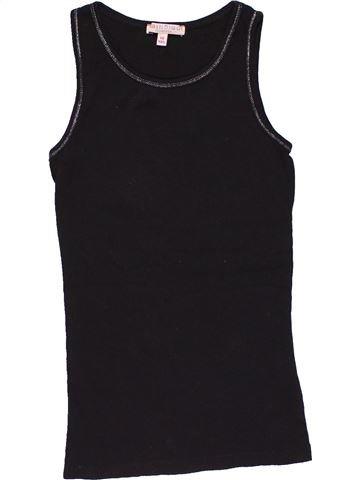 Sleeveless T-shirt girl M&S black 10 years summer #26953_1
