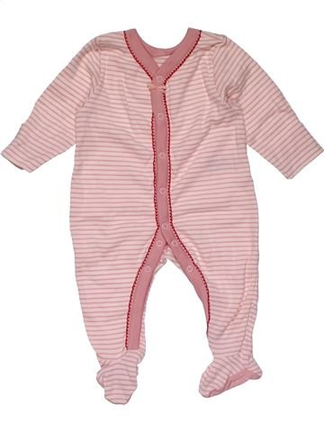 Long jumpsuit girl M&S pink 1 month winter #27161_1