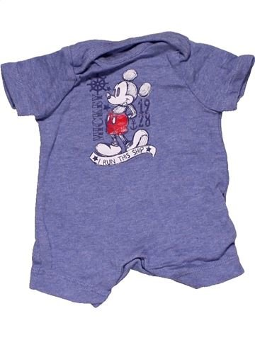 Short jumpsuit boy DISNEY BABY purple new born summer #27234_1