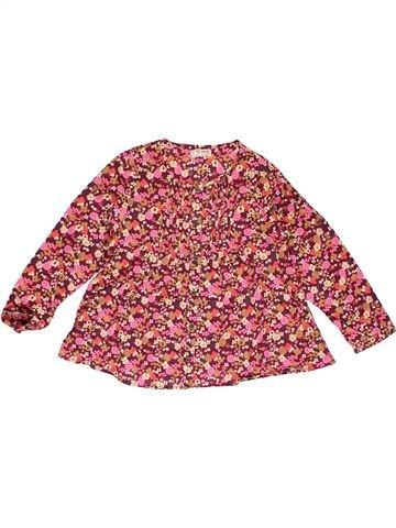 Long sleeve blouse girl NEXT brown 5 years winter #27266_1
