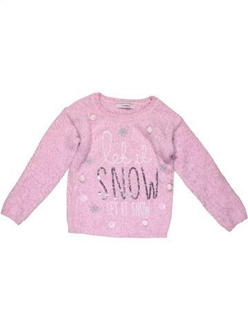 Jumper girl GEORGE pink 4 years winter #27320_1