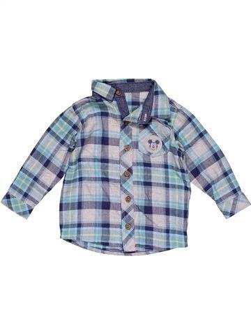Long sleeve shirt boy GEORGE blue 9 months winter #27462_1