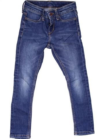 Jeans girl H&M blue 4 years winter #27488_1