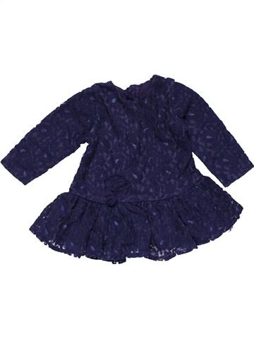 Dress girl MATALAN blue 3 months winter #27559_1