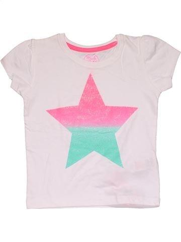 Short sleeve T-shirt girl PRIMARK pink 2 years summer #27588_1