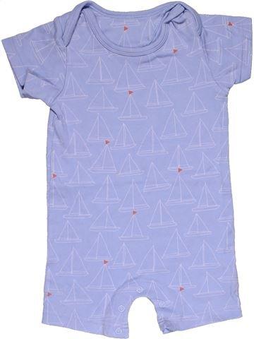 Short jumpsuit boy M&S purple 12 months summer #27604_1
