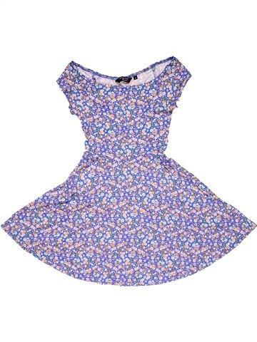 Dress girl NEW LOOK purple 9 years summer #27628_1