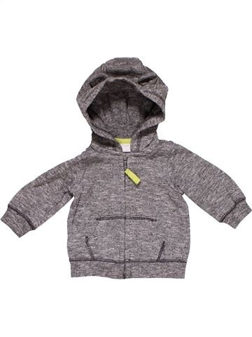 Sweatshirt boy F&F gray 3 months winter #27737_1