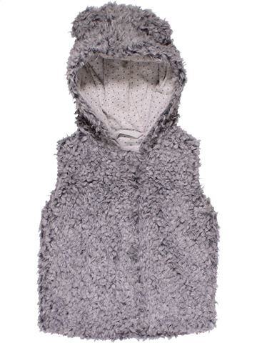 Vest girl NEXT gray 9 months winter #27738_1