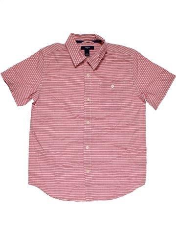 Short sleeve shirt boy GAP KIDS pink 11 years summer #27833_1
