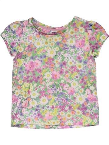 Short sleeve T-shirt girl MOTHERCARE gray 2 years summer #27895_1