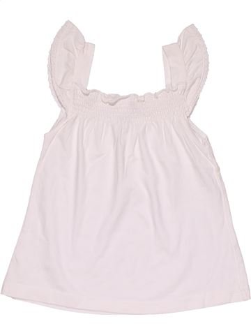 Tank Top girl H&M white 4 years summer #27930_1