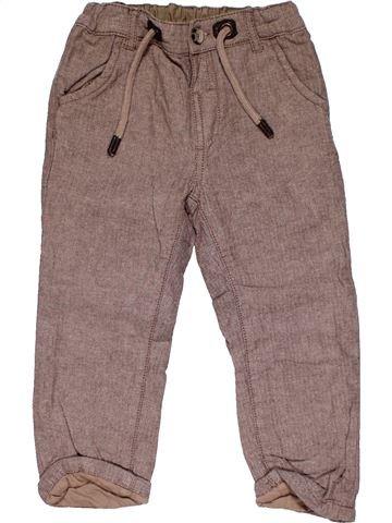 Trouser boy MATALAN brown 2 years winter #27937_1
