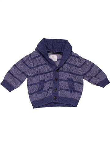 Sweatshirt boy NEXT purple 3 months summer #28021_1
