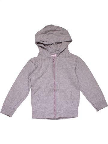 Sweatshirt girl URBAN RASCALS gray 5 years winter #28116_1