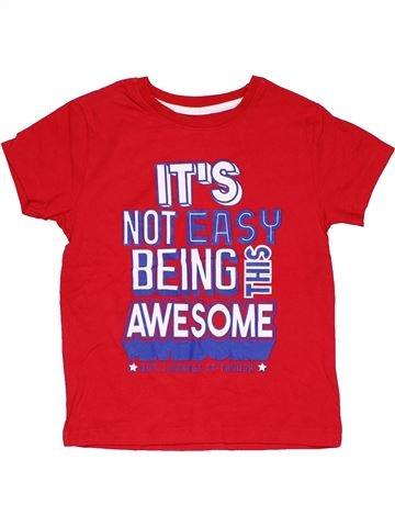 Short sleeve T-shirt unisex PRIMARK red 7 years summer #28157_1