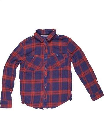 Long sleeve polo shirt boy PRIMARK purple 9 years winter #2820_1