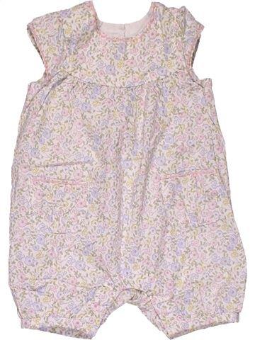 Dress girl MATALAN white 6 months summer #28384_1