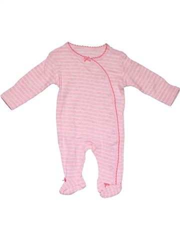 Long jumpsuit girl EARLY DAYS pink 1 month winter #28385_1