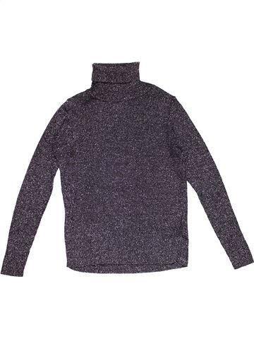 Long sleeve T-shirt girl MARKS & SPENCER gray 11 years winter #28427_1