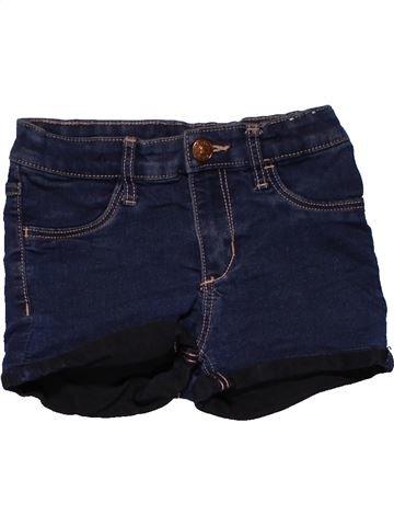 Short pants girl DENIM black 7 years summer #28503_1
