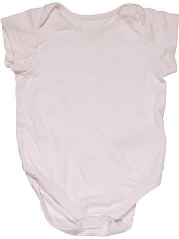Short jumpsuit unisex MARKS & SPENCER white 9 months summer #28519_1