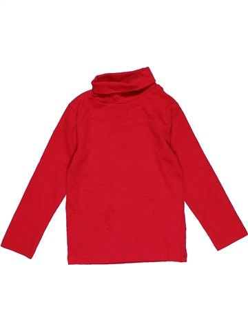 Long sleeve blouse girl NEXT red 2 years winter #28681_1