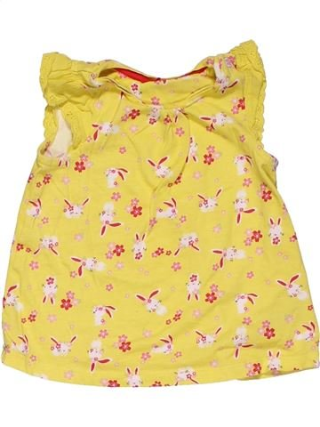 Tank Top girl MOTHERCARE yellow 18 months summer #28731_1