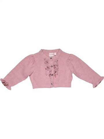 Jumper girl STAR pink 9 months winter #28743_1