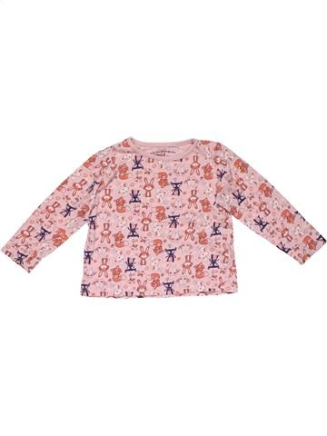 Long sleeve T-shirt girl PEP&CO pink 3 years winter #28806_1