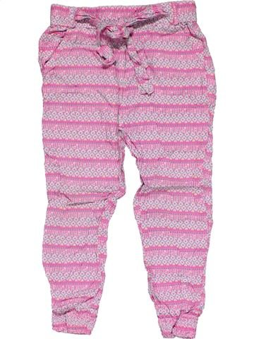 Trouser girl YOUNG DIMENSION pink 3 years summer #28808_1