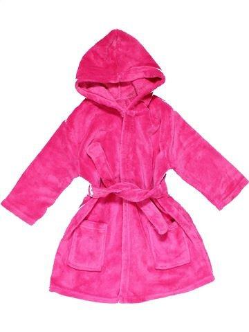 Bathrobe girl GEORGE pink 3 years winter #28846_1
