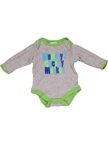 Long jumpsuit unisex BABY gray new born summer #28881_1