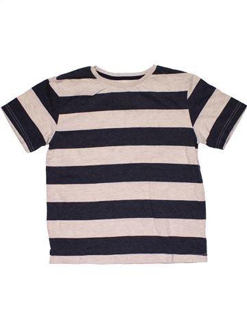 Short sleeve T-shirt boy REBEL white 11 years summer #28956_1