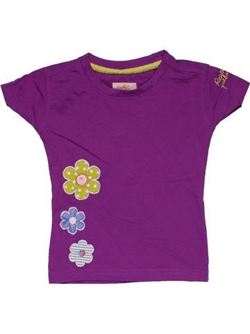 Short sleeve T-shirt girl REGATTA purple 2 years summer #28964_1