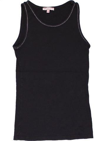 Sleeveless T-shirt girl MARKS & SPENCER dark blue 12 years summer #29104_1