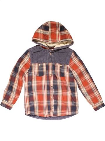 Jacket boy MARKS & SPENCER brown 9 years winter #29123_1