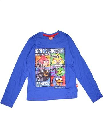 Long sleeve T-shirt boy ANGRY BIRDS blue 14 years winter #29179_1