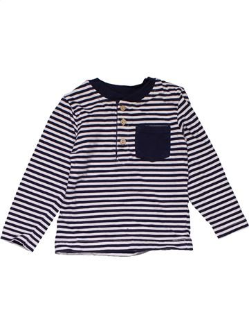 Long sleeve blouse boy MINIMAN black 12 months winter #29251_1
