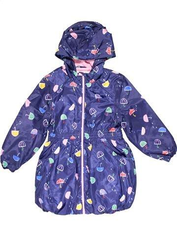 Jacket girl MARKS & SPENCER purple 5 years winter #29320_1