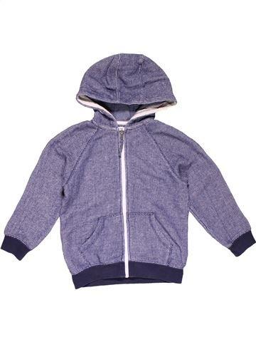 Sweatshirt boy DUDES blue 5 years winter #29331_1